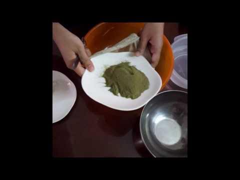 Hướng dẫn làm thạch lá găng (thạch găng) từ bột lá găng.