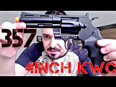 Revolver 357 4inch KWC Co2 Full Metal | Airsoft Review | FBAIRSOFT