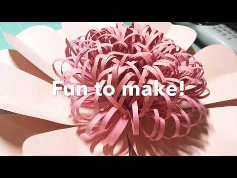 How I Use My Cricut & Making Paper Flowers!!