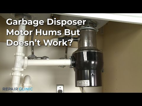 "Thumbnail for video ""Garbage Disposer Motor Hums? Garbage Disposer Troubleshooting """