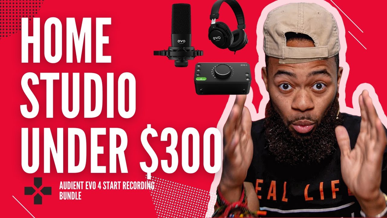 Help Me Devvon reviews Audient's EVO Start Recording Bundle