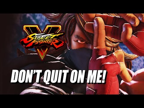 DON'T YOU QUIT ON ME! Zeku - Street Fighter 5 Ranked Matches