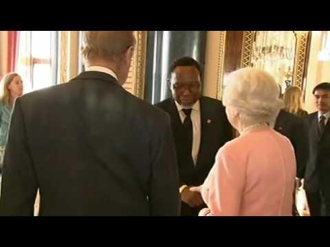 Reception at Buckingham Palace pt1