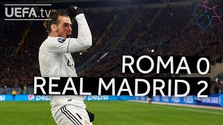 ROMA 0-2 REAL MADRID #UCL HIGHLIGHTS