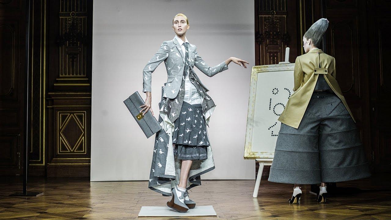 thom browne fall winter 2018 2019 full fashion show. Black Bedroom Furniture Sets. Home Design Ideas