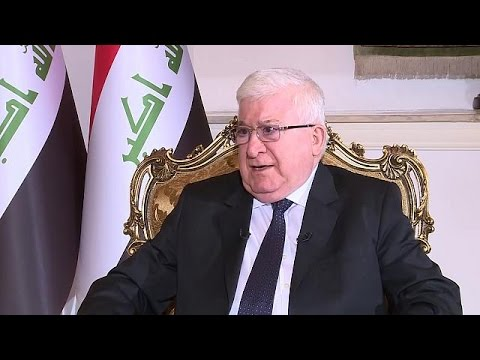 President of the Republic of Iraq on democracy and the decline of ISIL