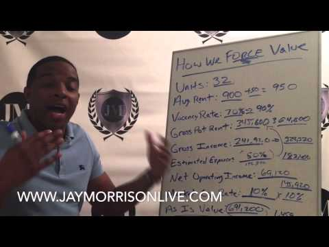 "How to create $768,000 in value in an Apartment Building by Jay ""Mr. Real Estate"" Morrison"