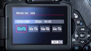 Canon: Demystifying HD Video on a DSLR Camera: Lesson 2 – Basic Camera Settings(Show your loved ones a heartfelt video of the most important moments. Learn how easy and fun it is to capture video using a Canon Rebel T5i DSLR., 2015-01-22T22:29:26.000Z)