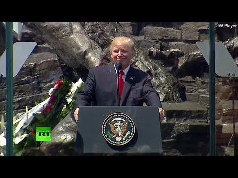 'America loves Poland': Trump delivers speech in Warsaw (STREAMED LIVE)