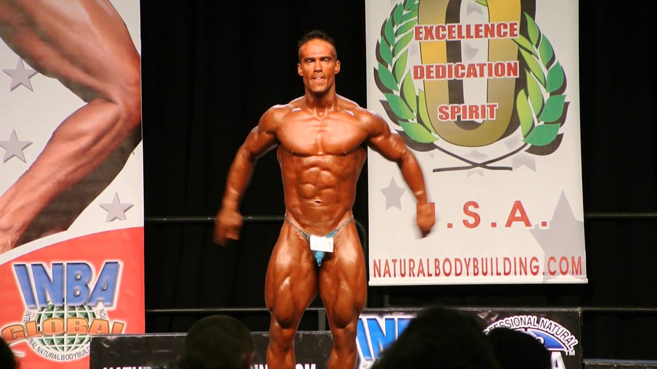 OFFICIAL Justin Firgaira Posing Routine 2014 Natural