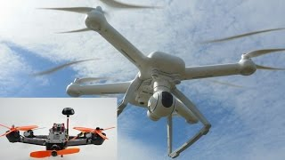 Пентакоптер 250, Xiaomi Mi Drone, краши, совет новичкам