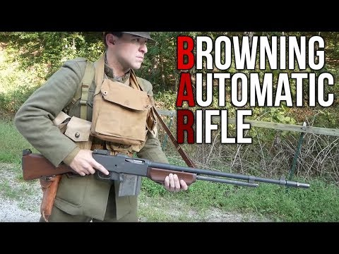 Browning Automatic Rifle in the First World War