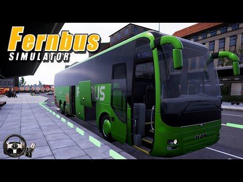 SİSLİ YOLLAR BİZİ BEKLER [Logitech G27 ile Fernbus Simulator]#4