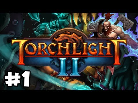 Torchlight 2 Walkthrough (PC) Ep.1: Gameplay Berserker! |
