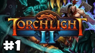 Torchlight 2 Walkthrough (PC) Ep.1: Gameplay Berserker!