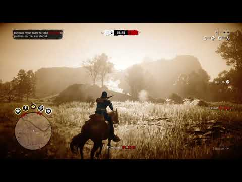 PAINT IT BLACK COUNTER - PAINT IT BLACK KILLER!!! Red Dead Redemption 2 Online