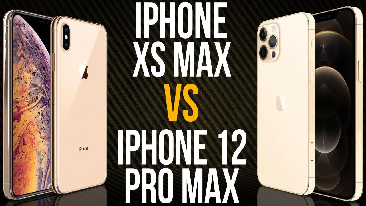 iPhone XS Max vs iPhone 12 Pro Max (Comparativo)
