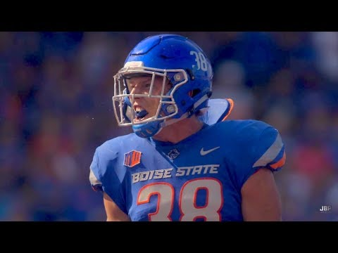Best Defensive Player in the MWC || Boise State LB Leighton Vander Esch 2017 Highlights ᴴᴰ