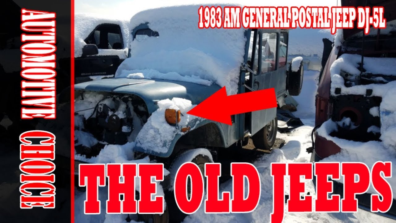 [HOT NEWS] 1983 AM General postal Jeep DJ 5L  One of the last of the good  old mail Jeeps  WOW!!!