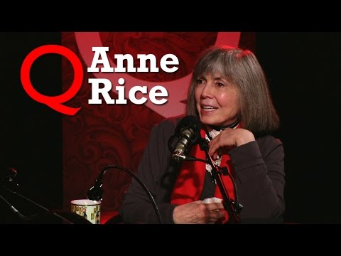 Anne Rice on her return to vampires