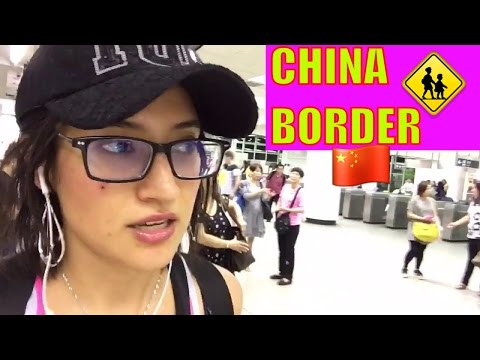 CROSSING the CHINA BORDER with a VIP ticket