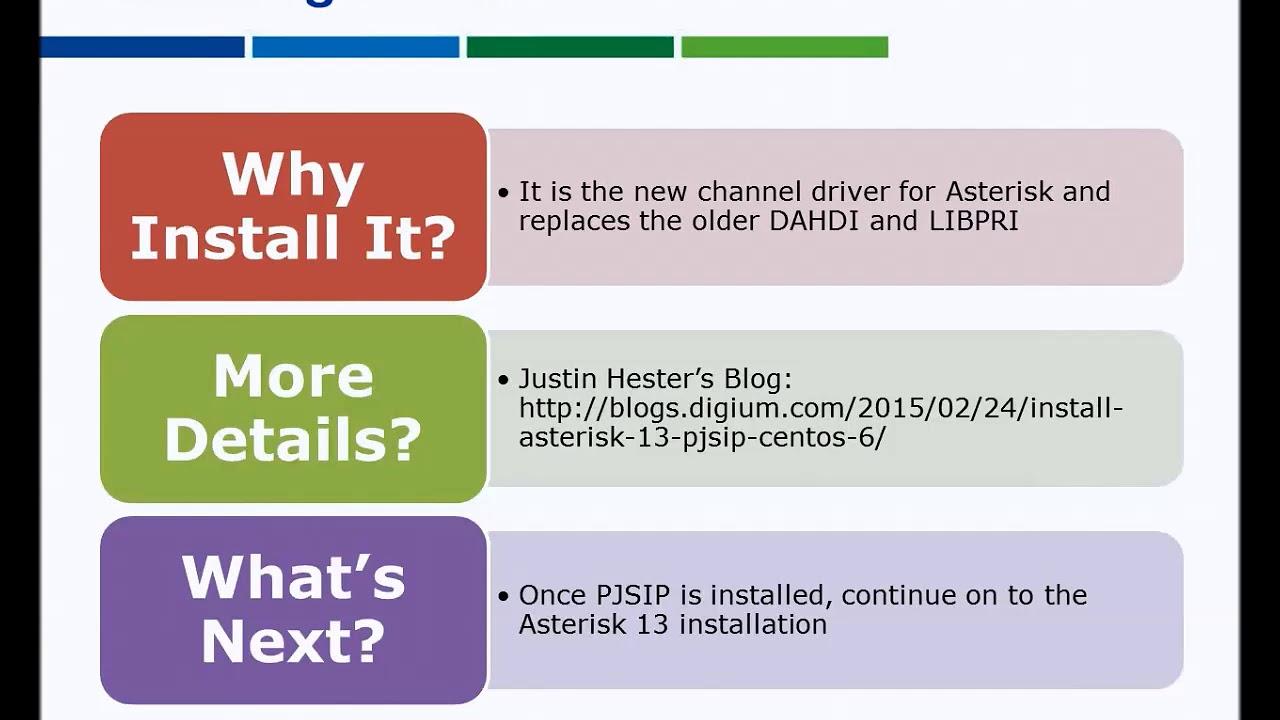 Asterisk 13, Part 1 of 7 | LumenVox Developer Network
