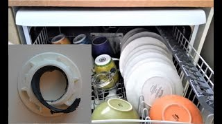 How to repair a dishwasher. Not cleaning well at the top rack
