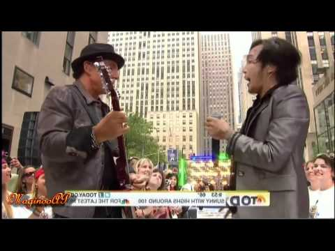 HD Journey  Arnel Pineda Anyway You Want It @ NBC Today Show= 72911