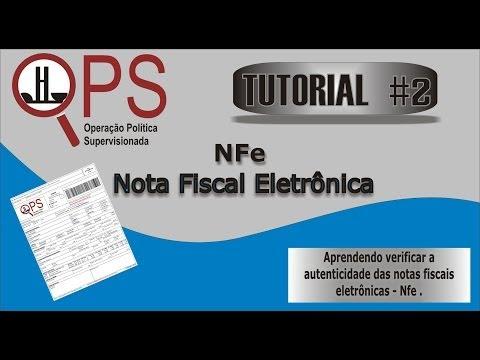 OPS - TUTORIAL 2 - Nota Fiscal Eletrônica - NFe