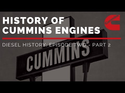 History Of Cummins Engines | Diesel History Episode Two - Part 2 (Post-WWII)