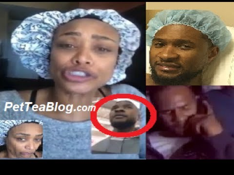 Tami Roman talks to R.Kelly & #USHER gets MEDS for his... 💀😾😨😭