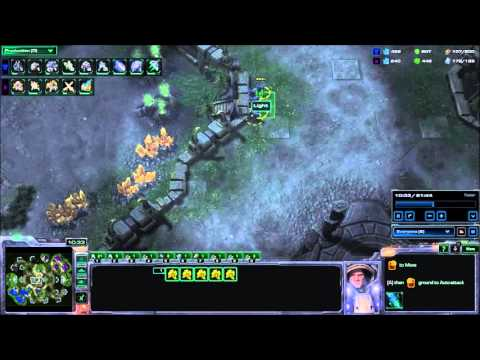 Starcraft 2 - Puck vs Major PvT - #17