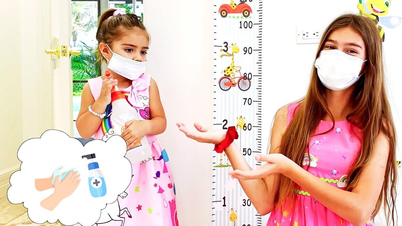 Stacy y Mia historias sobre cómo evitar enfermarse