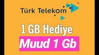 Türk Telekom -Vodafone-Turkcell  Muud Uygulamasından internet Alma %100 Çalısıyor !!