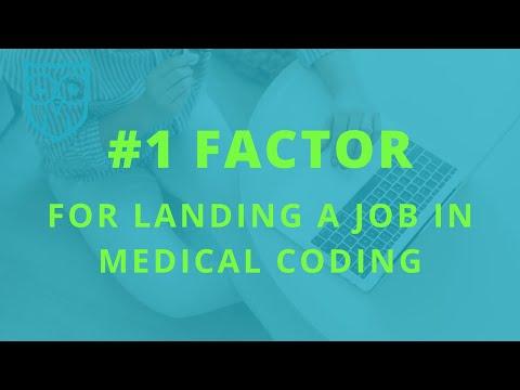 The Biggest Factor In Landing a Medical Coding Job