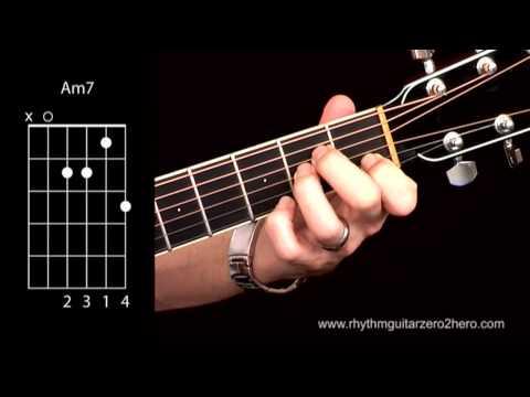 Am7 Guitar Chord @ worshipchords