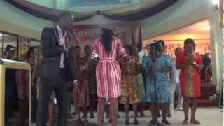 CAC Praise Team in Adabraka Ghana