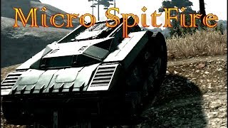 crossout - Micro Spitfire is Small BUT F%#Kn TOUGH !