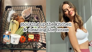 Self Quarantine Prep | Whole Foods Haul + Cleaning The House