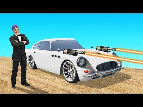 New $5,000,000 JAMES BOND DLC Car! (GTA 5 Online)
