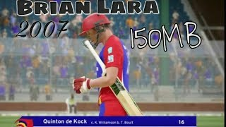Brian Lara 2007 - Pressure Play Iso Psp Android || Highly compressed 160 MB || (Hindi)