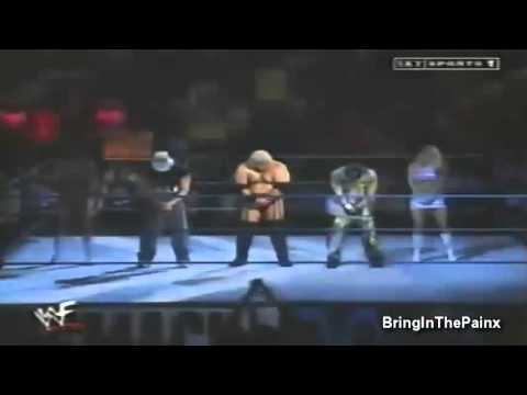 Smackdown 2000: Too Cool, Rikishi & Victoria Share A Dance In The Ring