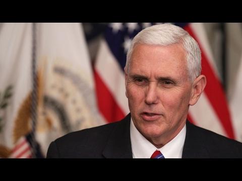 Pence defends GOP health plan in Kentucky