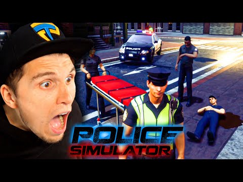Polizist wurde angeschossen! | Polizei Simulator