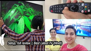 New LG TV 49 quot 4K Ultra HD Smart LED TV 49UM7300PTA Setup full review Best Latest TV Hindi