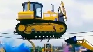amazing excavator accident compilation, excavator and truck, loading excavator fail 2016