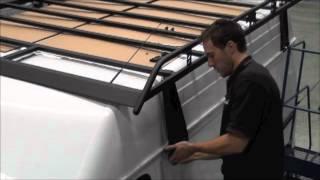 Rhino Roof Rack - The Ultimate Modular Van Rack