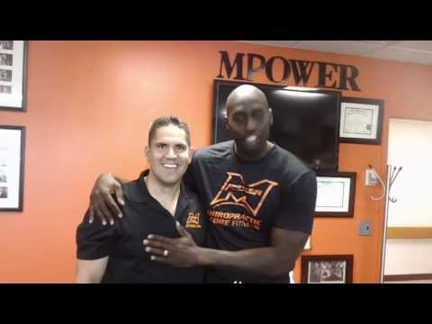 Former New York Knick Tim Thomas Raving About Dr. Pagan & MPower Chiropractic!