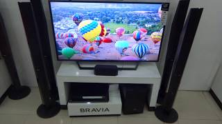 Sony DAV-DZ950 DVD Home Cinema System With Bluetooth display video