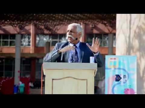 """Major General G.D BAKSHI speaking on """" A TALE OF TWO NATIONS """" at """"YUVAAN 2017"""